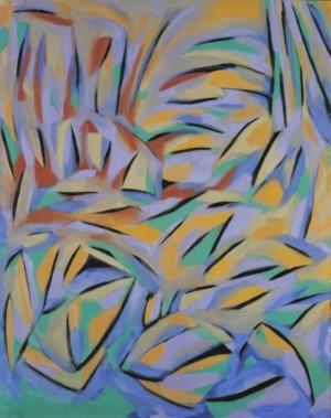 Coastal Patterns, oil on canvas, 79