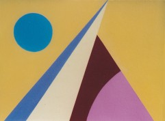 "Modern Module #1, acrylic on canvas, 10"" x 14"", 1993, $900"