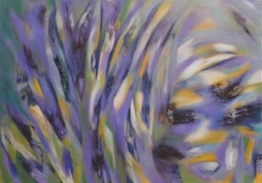 Towards the Coast, oil on canvas, 84