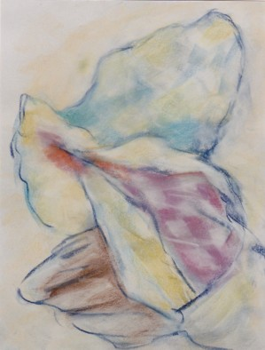 Conch Couch, pastel, 12