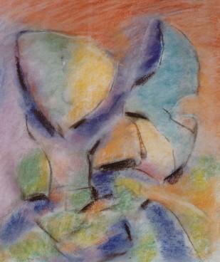 Floral Dream, pastel, pastel, 15
