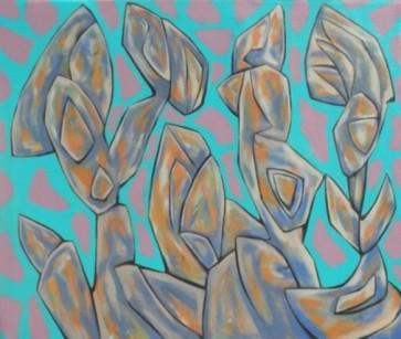 """acrylic on canvas, 56"""" x 67"""", 2015"""